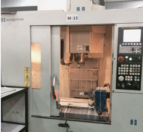 Four axis high speed CNC